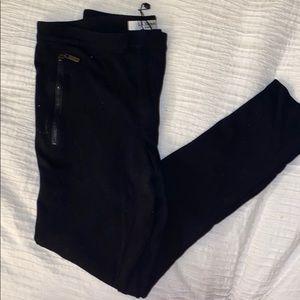 L.K. Bennett London black legging pants